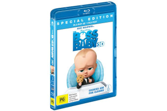 The Boss Baby 3D Edition with 2D Edition Blu-ray Region B