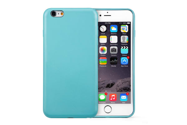 Leather Case for iPhone 6 Plus/6s Plus (Blue)
