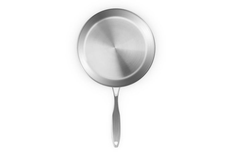 SOGA Stainless Steel Fry Pan 28cm 32cm Frying Pan Top Grade Induction Cooking