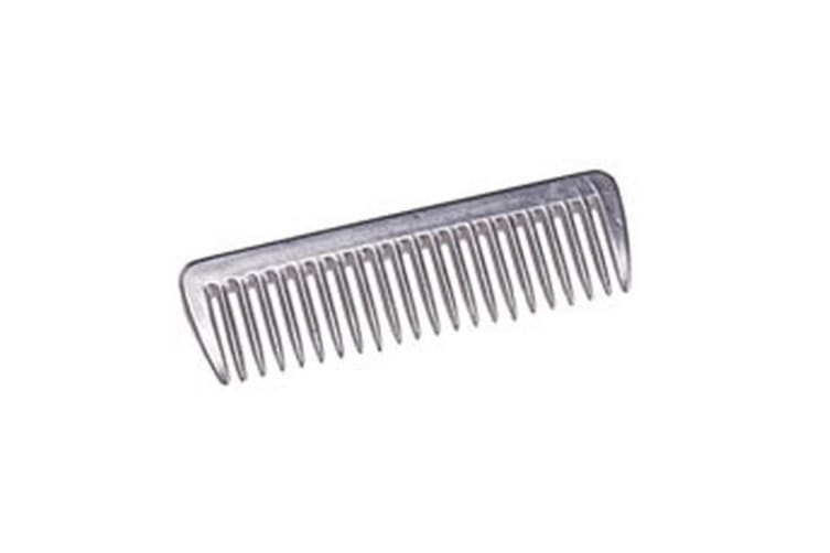 Cottage Craft Aluminium Pulling Comb (Silver) (Small)