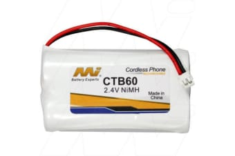 2.4V NiMH Cordless Phone Battery CTB59
