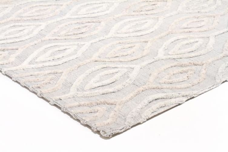 Winter Wish White Modern Rug 280X190cm