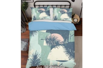3D Color Leaves Pattern Quilt Cover Set Bedding Set Pillowcases  200-Queen