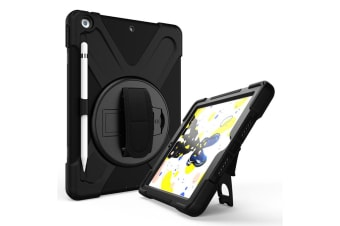 Rugged Case for iPad 10.2 (7th Gen.) with Pen Holder