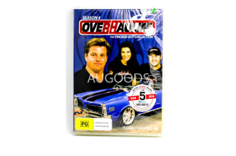 Overhaulin'-Tricked Out Collection:Season 4 3-Disc Set - Series DVD NEW