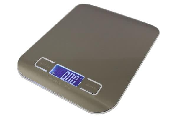TODO 5Kg Stainless Steel Electronic Kitchen Scale 1G Graduation Backlit Lcd 5000G Capacity