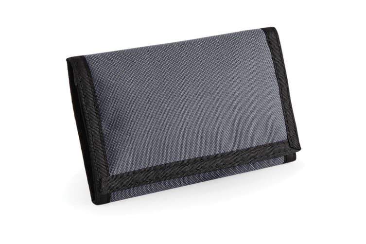 Bagbase Ripper Wallet (Graphite) (One Size)