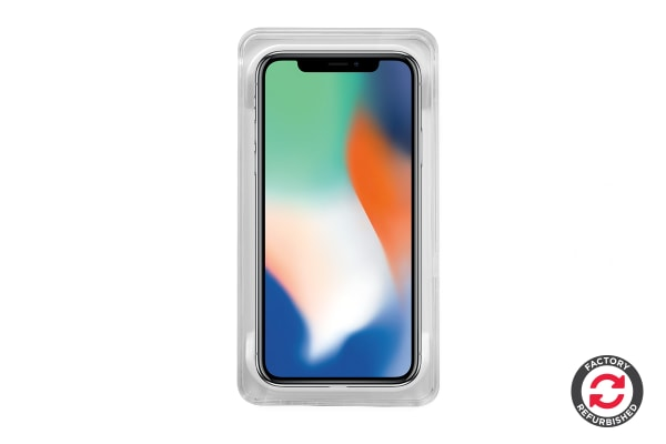 Apple iPhone X Refurbished (256GB, Silver) - AB Grade