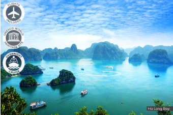 VIETNAM:​ 10 Day Best of Vietnam​ Tour ​Including​ ​Flights​ ​for Two
