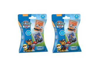 2x 36pc Paw Patrol Snap Playing Deck Card Educational Games/Toys Kids/Child 3y+