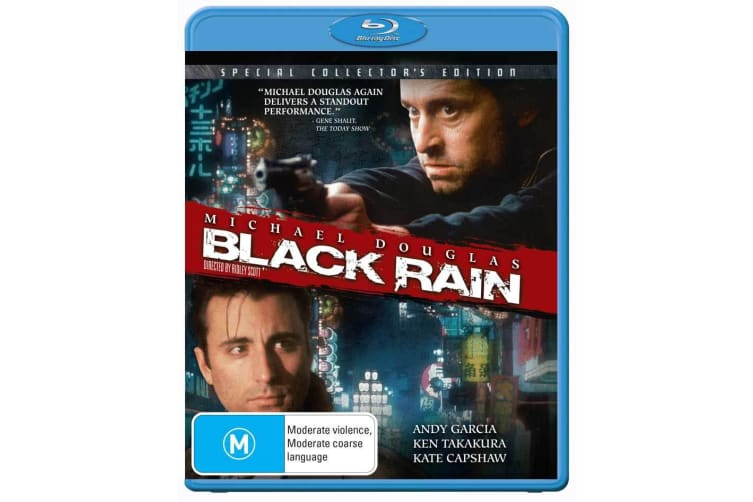 Black Rain Blu-ray Region B