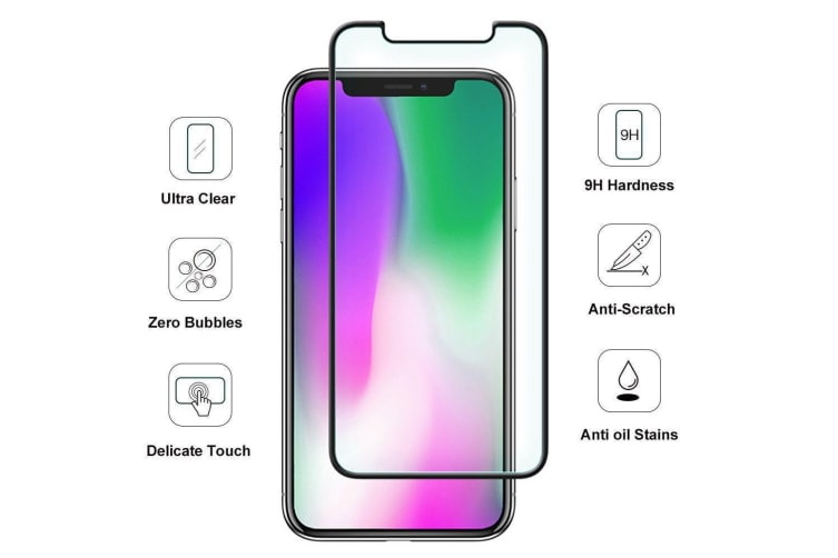 For iPhone 11 & XR Full Screen 3D 9H Tempered Glass Screen Protector iCoverLover