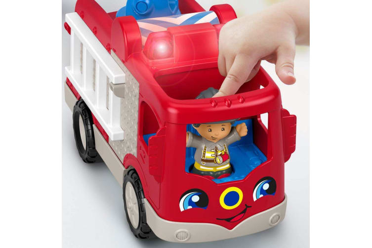 Fisher Price Little People Helping Others Fire Truck