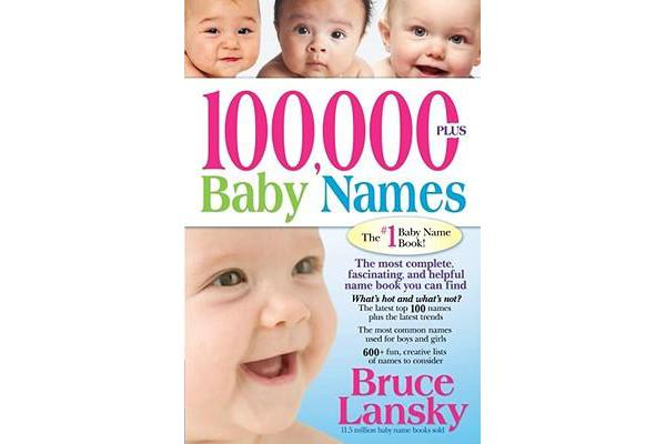 100,000+ Baby Names - The Most Helpful, Complete, & Up-To-Date Name Book