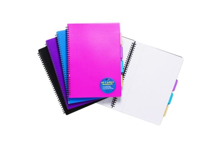 Tiger Stationery Ring Bound Subject Notebooks (Assorted) (A5)