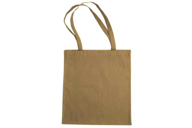 """Jassz Bags """"Beech"""" Cotton Large Handle Shopping Bag / Tote (Iced Coffee) (One Size)"""