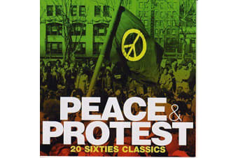 Various Artists - Peace and Protest BRAND NEW SEALED MUSIC ALBUM CD - AU STOCK