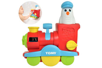 Tomy Toomies Bubble Blast Train Toy/Game Kids/Baby/Children Pool/Bath/Swimming