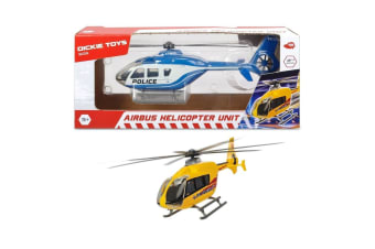 Dickie Toys SOS Airbus Helicopter Unit in Yellow