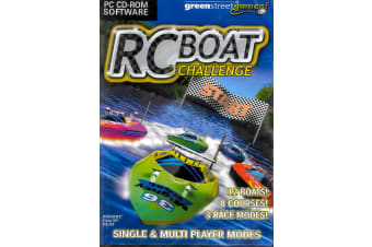 RC Boat Challenge PC GAME BRAND NEW SEALED