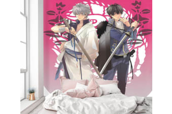 3D Handsome Guy Pulling Sword 47 Anime Wall Murals Woven paper (need glue), XL 208cm x 146cm (WxH)(82''x58'')