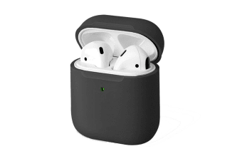 Uniq Lino Silicone Case Cover Soft Protection Holder for 1st/2nd Gen AirPods GRY