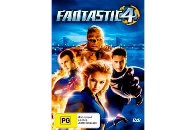 Fantastic Four 4 - Rare- Aus Stock DVD PREOWNED: DISC LIKE NEW