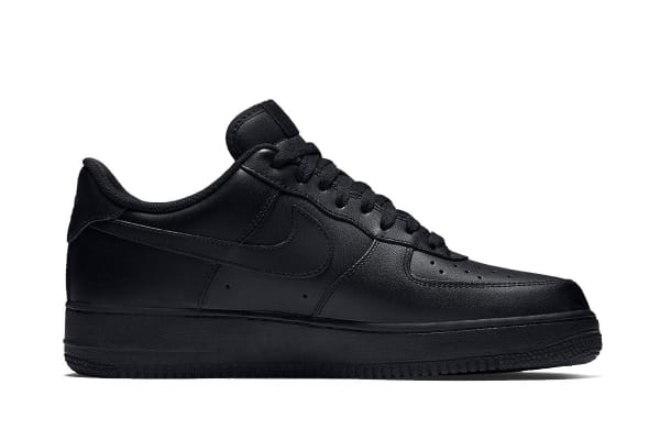 huge selection of bf4ca 9d2a9 Nike Men s Air Force 1 Low  07 Shoe (Black, Size 9) - Kogan.com
