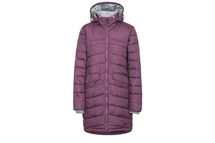 Trespass Womens/Ladies Homely Padded Jacket (Blackberry) (XXS)