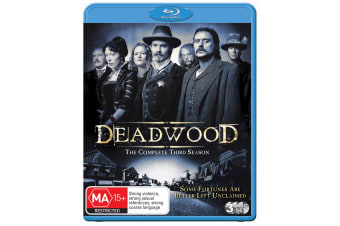 Deadwood The Complete Third Season 3 Blu-ray Region B