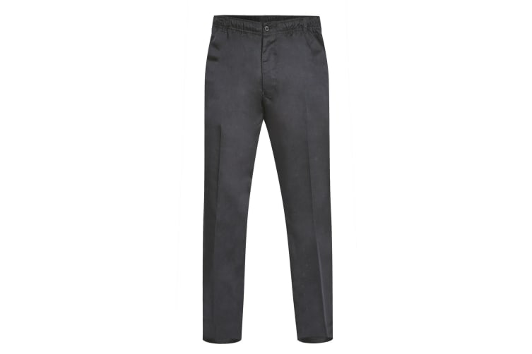 Duke Mens Basilio D555 Full Elastic Waist Rugby Trousers (Black) (38S)