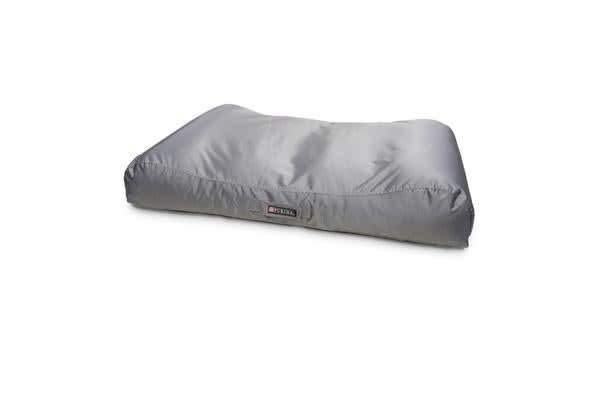 Petlife Lounger Dog Bed Silver - Small