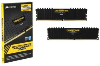 Corsair Vengeance LPX 32GB (2x16GB) DDR4 2400MHz C14 Desktop Gaming Memory Black