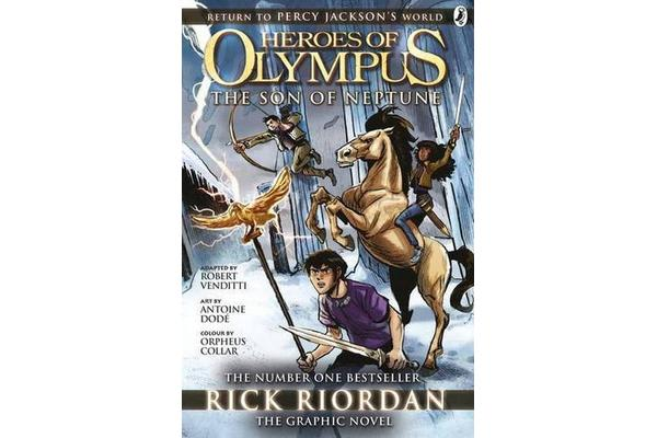 The Son of Neptune - The Graphic Novel (Heroes of Olympus Book 2)