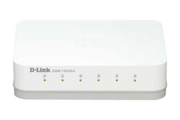 D-Link 5-Port Gigabit Desktop Switch (DGS-1005A)