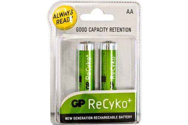 Gp Recyko Lsd Aa Battery 2Pk