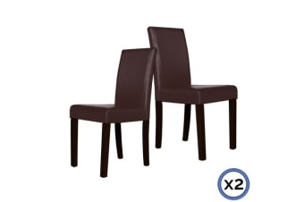 2 X Montina Dining Chair Brown