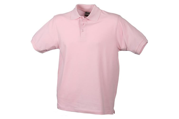 James and Nicholson Childrens/Kids Classic Polo (Rose) (L)