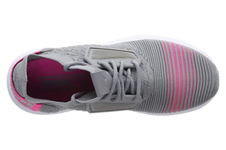 PUMA Women's Uprise Color Shift Shoe (Quarry/Knockout Pink, Size 7)