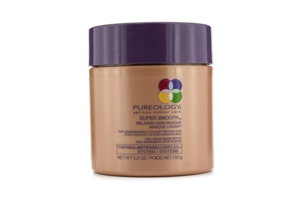 Pureology Super Smooth Relaxing Hair Masque (For Unmanageable Colour-Treated Hair) (New Packaging) (150g/5.2oz)