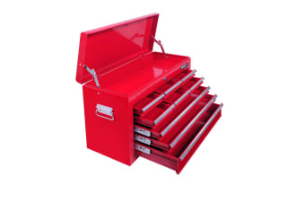 9 Drawers Tool Box Chest (Red)