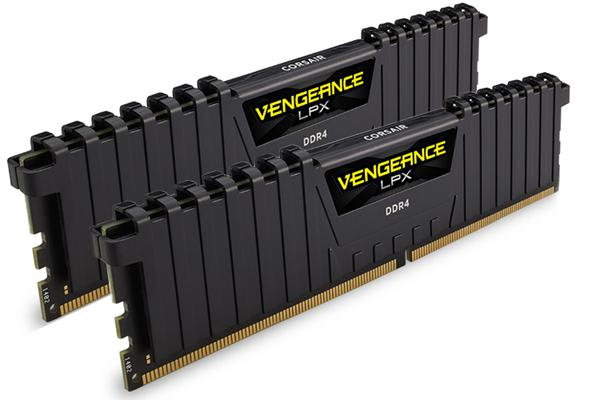 Corsair Vengeance LPX 16GB (2x8GB) DDR4 3000MHz C16 Desktop Gaming Memory Black