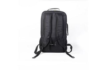 """Access Backpack for up to 18"""" NB, Black with Yellow linings, Nylon 210D, Water"""