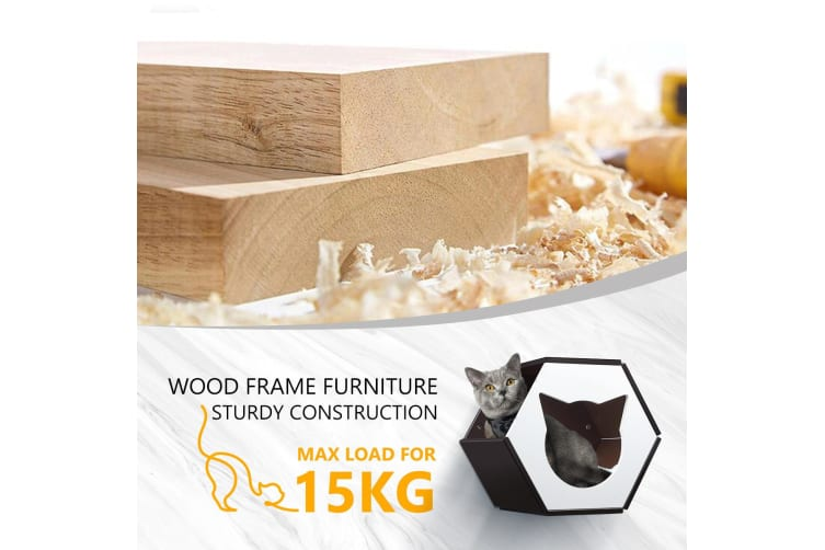 Wall Mounted Cat House Perch Shelves Cat Furniture