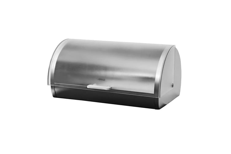 Avanti 39cm Roll Top Frosted Lid Bread Pastries Bin Container Storage S S