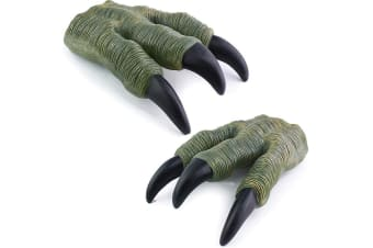 Dinosaur Claws Velociraptor Green Claws for Kids