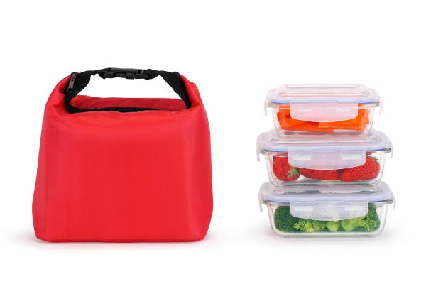 Insulated Thermal Lunch Bag (Red)