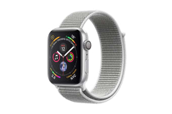 Apple Watch Series 4 (Silver, 40mm, Seashell Sport Loop, GPS Only)