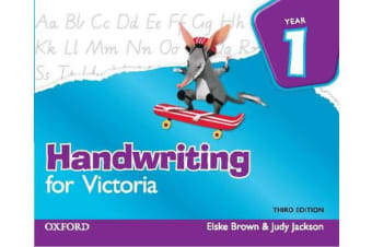 Handwriting for Victoria Year 1 - Year 1