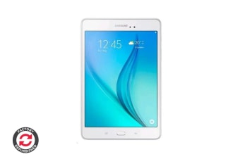 Refurbished Samsung Galaxy Tab A 8.0 LTE (4G) + WiFi (White)Quad Core 1.2Ghz Android 5.0 16GB StorageWhite
